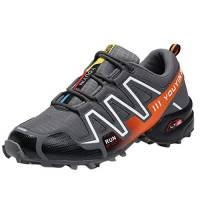 CLOOM Scarpe Sportive Uomo, Scarpe Running Uomo Scarpe Uomo Sneakers Scarpe da Ginnastica Uomo Scarpe da Corsa Unisex Scarpe Antinfortunistiche Uomo Donna Scarpe(Grigio,45)