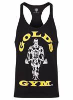 Goldsgym Muscle Joe Premium Canotta, Nero, Medium