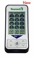 TESMED trio 6.5 elettrostimolatore muscolare, tens antidolori, massaggi - 36 programmi - 40 livelli di intensità - batteria ricaricabile - 4 elettrodi