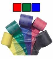 Theraband, confezione da 3 pezzi, colore: rosso, Verde, Blu