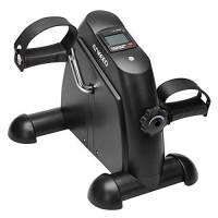 ENKEEO Mini Cyclette Fitness, Mini Bicicletta, Cyclette Pedaliera da casa Intensità Regolabile, con LCD Display, Ideale per l'allenamento a Casa o Ufficio, per Le Gambe e Braccia