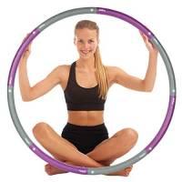 just be...…® Cerchio Hula Hoop per Esercizi fisici - Viola 1,4Kg