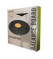 Phoenix Fitness Unisex Balance Board, Nero, Taglia 360