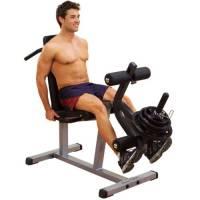 Body-Solid–Dispositivo per allenamento gambe estensione/Curl