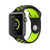 Elobeth per Apple Watch Band serie 1 serie 2 Soft Sports cinturino in silicone cinturino cinturino sostituzione cinturino con fibbia regolabile e sgancio rapido per Apple iWatch