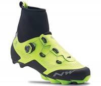 NORTHWAVE Raptor Artic GTX MTB scarpe invernali Yellow Fluo Size 42