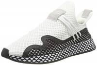 adidas Deerupt New Runner, Sneaker Uomo, Weiß Core Black/Footwear White 0, 46 EU
