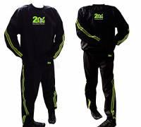 2Fit Tuta Sauna per perdere peso, palestra, Fitness-Tuta dimagrante Sauna da bagno Sauna Track Suit-Tuta Anti-strappo