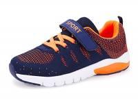 MAYZERO Bambina Scarpe da Ginnastica Ragazzo Ragazza scarpe Unisex Kids Scarpe da Corsa Leggera in Mesh Atletico Leggero per Ragazzi Ragazze Sneaker (33 EU, Arancione)