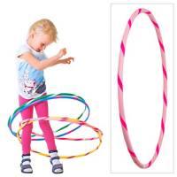 Hoopomania Hula Hoop colorato per piccoli professionisti, Bambini, Bunter Hula Hoop für Kleine Profis, Pink-Pink
