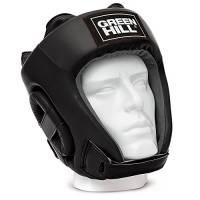 GREEN HILL Training, Caschetto da Boxe Unisex – Adulto, Nero, M
