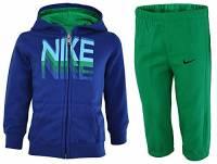Nike Kids track suit baby da jogging bambino neonati tuta Blu, Dimensione:24 - 36 M.