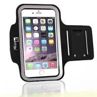 iPhone 7/8 Plus Sportive Fascia da Braccio con accesso identificazione delle impronte digitali. Fascia da braccio Custodia Porta Telefono per corridori, allenamenti, palestra, Fitness e Sport