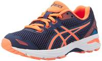 ASICS GT-1000 5 GS Scarpe Running Bambino, Multicolore (Indigo Hot Orange/Thunder Blue), 38 EU