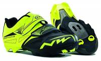 NORTHWAVE SPIKE EVO NERO GIALLO FLUO North wave 43
