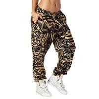 Zumba Fitness Z1B00561, Pantaloni Donna, Black, L