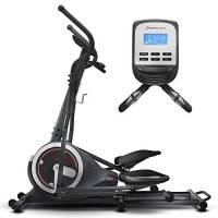 Sportstech Macchina ellittica CX640 compatibile con l'app per smartphone, Massa del volano 24 kg + Street View + 26 programmi di allenamento inclusa la funzione HRC, Dispositivo per allenarsi a casa
