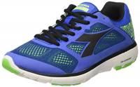 Diadora X Run, Scarpe da Corsa Uomo, Blu (Azzurro/Nero), 43 EU