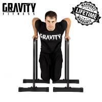Gravity Fitness, sbarre parallele per dip, per crossfit, esercizi liberi, ecc.