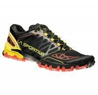 La Sportiva Bushido, Scarpe da Trail Running Uomo, Multicolore (Nero/Giallo 000), 42 EU