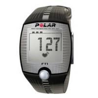 Polar FT1 Black, Cardiofrequenzimetro Unisex, Nero, Taglia Unica