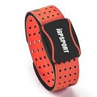 iGPSPORT HR60 Fascia da Braccio cardiofrequenzimetro Sensore di frequenza cardiaca Ottica Compatibile con Ant e Bluetooth Impermeabile IPX7