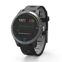 PRIXTON - Smartwatch ECG / Fitness Tracker Bluetooth con elettrocardiogramma, Pressione in Cinghia, Cardiofrequenzimetro, Resistente Agli Schizzi | SWB28