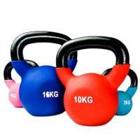 YXST Kettlebell 2kg/4kg/6kg/8kg/10kg/12kg/14kg/18kg/20kg Palestra A Casa Attrezzatura per Allenamento Forza Fitness Pilates Allenamento con I Pesi,2KG