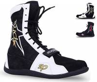 Starpro Superior Scarpe Boxe - Boxer Scarpe Ginnastica Combattono Calzature per Allenamento Esercizio Fitness Arti Marziali Tailandesi MMA Muay | Stivali da Arrampicata Mesh Traspirante Suola Gomma