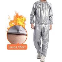 Ahagut Tuta per la Perdita di Peso Tuta per Sauna Tuta Tuta Sportiva Tute per Sauna da Donna Tuta da Ginnastica Dimagrante Anti Rip Fitness Giacca Sportiva (XL)