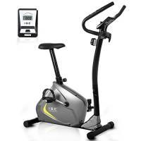 ISE Cyclette da Case Magnetico Bici da Fitness, Resistenza Regolabile per Allenamento, Supersilenzioso,Peso Fino a 110 kg,SY-8802