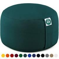 Present Mind Cuscino Meditazione Yoga Zafu,Altezza 20 cm,Rivestimento in Cotone Lavabile