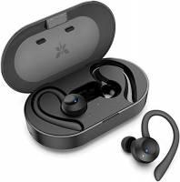 Auricolari Bluetooth Sport Senza Fili AXLOIE Cuffie Bluetooth 5.0 Impermeabili IPX7 con Hi-Fi Stereo CVC 6.0 Microfono Integrato 25 Ore di Riproduzione per Smartphone Tablet ecc