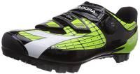 Diadora X Vortex– Comp, Scarpe da Ciclismo, Mountain Bike. Unisex – Adulto, Multicolore Verde/Nero 2174, 42 EU