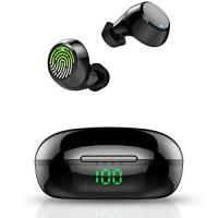 Tiksounds Cuffie Bluetooth, Auricolari Bluetooth Sport Cuffie Wireless 36 Ore di Tempo di Utilizzo, IPX7 Impermeabili Cuffie con Microfono, Cuffie in Ear per il lavoro/sportivo