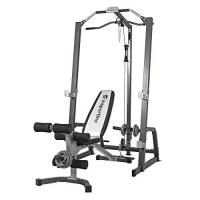 InSPORTline Power Rack – Durevole multifunzione Workout & Fitness Station – Home Gym CrossFit Power Cage Pull Up panca addominale tricipiti – estremamente robusto attrezzatura da panca