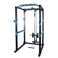 novi Power Rack, Multifunzione Home Bench Press Rack Regolabile Bench Press Attrezzature per l'allenamento ad Alta Resistenza