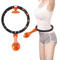 Surplex Fitness Massage Hula Hoop, Auto Spinning Smart Conteggio Removibile Hula Hoop, Sottile Vita Perdita Di Peso Non Cade Yoga Hula Hoop Sportive Adatte per Bambini Principianti Adulti