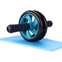 Mitavo Ab roller, ab wheel , ruota allenamento con tappetino per le ginocchia, per il fitness e l'allenamento dei addominali / muscoli delle spalle / muscoli delle braccia / muscoli delle gambe