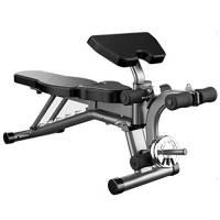 ZAIHW Fitness all-in-One con manubri/bilanciere Panca - Viene con bilanciere Rack Stand, Leg Curl e Rimovibile Bicipite Curl Preacher Pad - for Home Gym Fitness ed Esercizio Fisico
