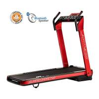 JK FITNESS SUPERCOMPACT48, Tapis roulant, Unisex - Adulto, Red, 145 x 75 x 123 cm Aperto - 74 x 26 x 145 cm Chiuso