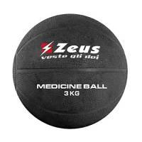 Zeus Palla Medica 1-2-3-4-5 kg Palestra Allenamento Fitness Body Building (3 kg.)