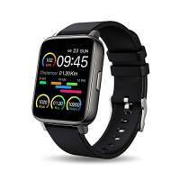 Smartwatch, 1,69'' Touch Schermo Orologio Fitness Uomo Donna Activity Tracker, Impermeabile IP67 Smart Watch Cardiofrequenzimetro da Polso Contapassi, Notifiche Messaggi Controller Fotocamera Musicale