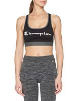 Champion The Absolute Workout Reggiseno, Multicolore (Noir Logo 8mo), Medium Donna