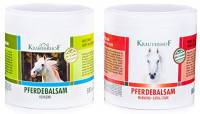 Kräuterhof Balsamo del cavallo gel riscaldante extra forte + raffreddamento 2 x 500 ml