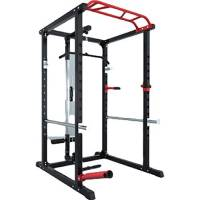 novi Power Rack, Multifunzione Home Frame Power Rack Cage Regolabile Attrezzatura per l'allenamento Completa (con Custodia)