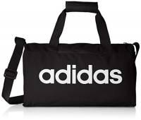 adidas Linear Core Duffel XS, Bags Uomo, Black/Black/White, Taglia Unica