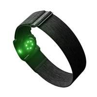 Polar Verity Sense, Sensore a Lettura Ottica della Frequenza Cardiaca Adatto per lo Sport, Trasmissione ANT+ e 2 Bluetooth, Semplice, Impermeabile, Compatibile con Peloton, Zwift e altre App