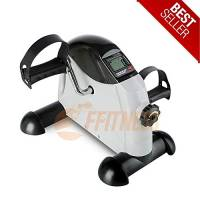 Mini Bike Cyclette Pedaliera Fitness Allenatore Braccia Gambe Training Computer Home Trainer da casa