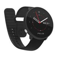 Polar Unite Sportwatch Impermeabile Unisex con Gps da Smartphone, Monitoraggio del Sonno, Guida all'Allenamento Quotidiano, Misurazione del Recupero - Cardiofrequenzimetro dal Polso, Nero